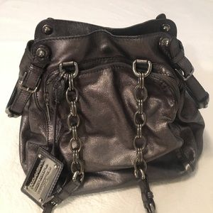 Authentic dolce and gabbana metallic bag